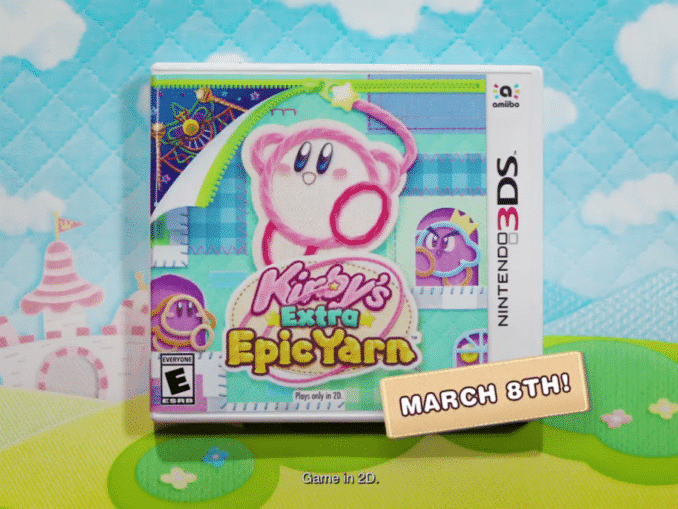 News - Kirby's Extra Epic Yarn releases March8th