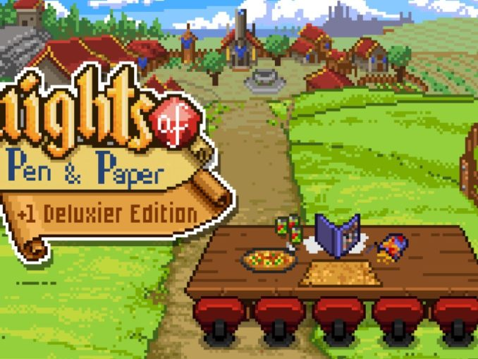 Release - Knights of Pen and Paper +1 Deluxier Edition