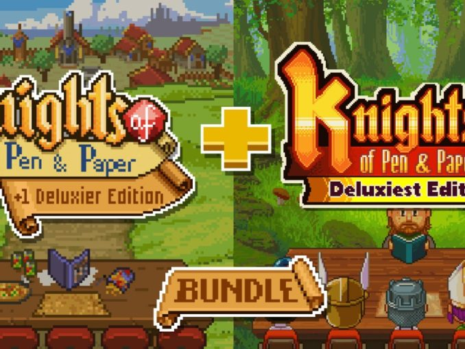 Release - Knights of Pen and Paper Bundle