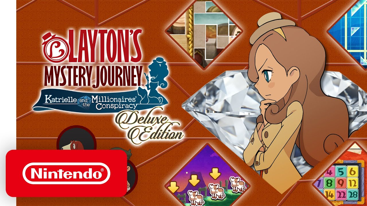 LAYTON'S MYSTERY JOURNEY: Katrielle and the Millionaires' Conspiracy – Deluxe Edition Launch Trailer
