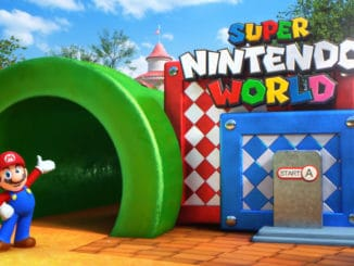 Gelekte modellen tonen de lay-out van Super Nintendo World