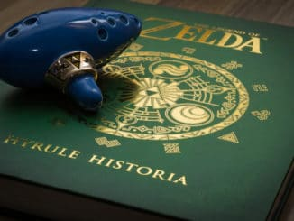 Legend of Zelda: Hyrule Historia digitale versie – 14 April