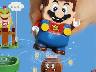 LEGO designer; working with Nintendo is a dream come true