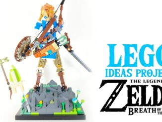 LEGO Ideas Campagne – Breath Of The Wild Link figuurtje