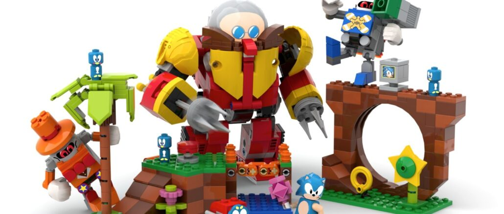 LEGO Ideas – Fan's Sonic Mania Green Hill Zone Design komt officieel