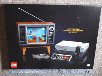 LEGO Nintendo Entertainment System unboxing