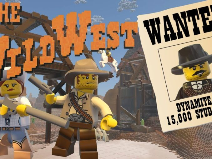 Nieuws - LEGO Worlds – Gratis Wild West Update