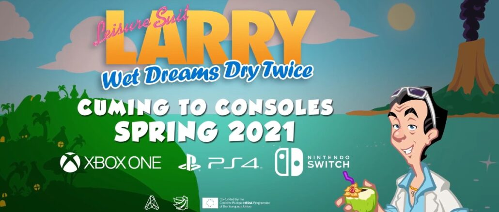 Leisure Suit Larry: Wet Dreams Dry Twice komt lente 2021