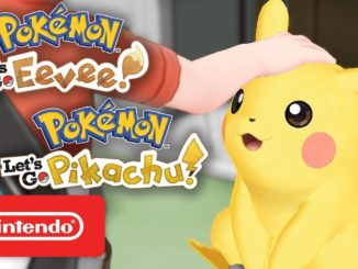 Let's Go Trailer – Pokemon Eevee & Pikachu