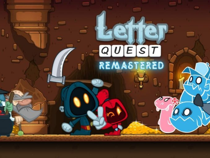 Release - Letter Quest Remastered Wii U