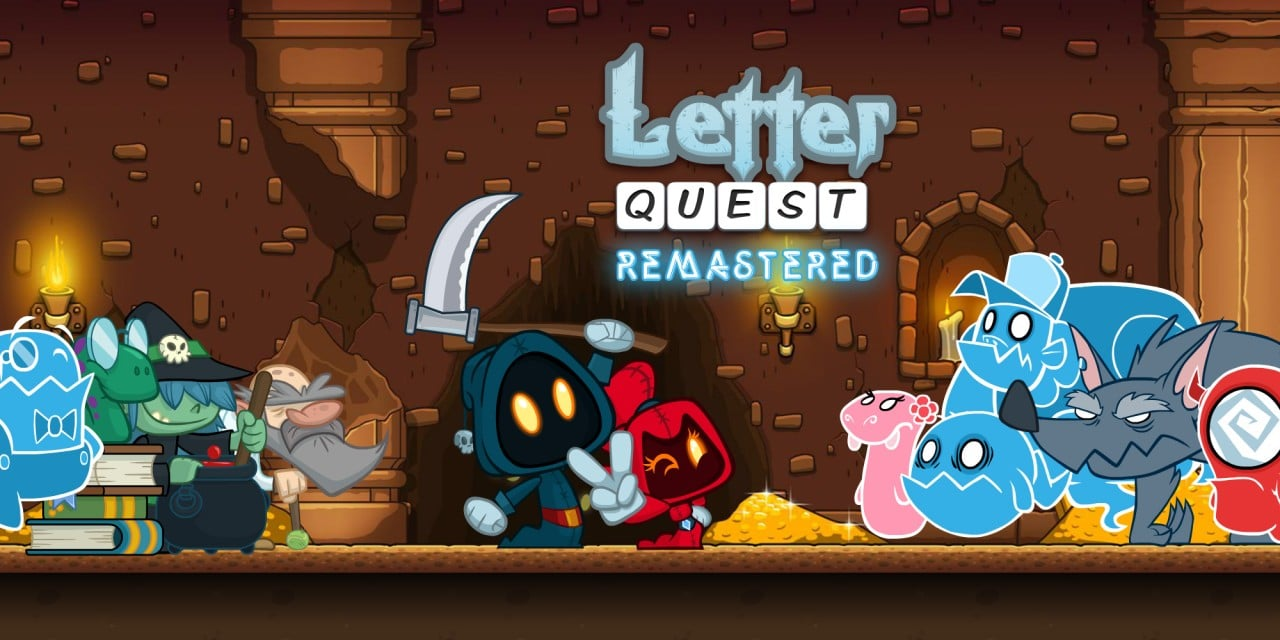 Letter Quest Remastered Wii U