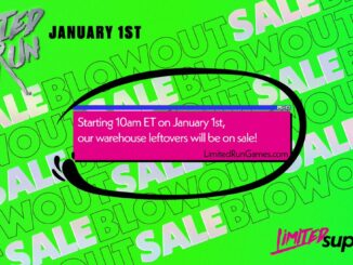 Nieuws - Limited Run Games – Blowout Sale 1 January 2021