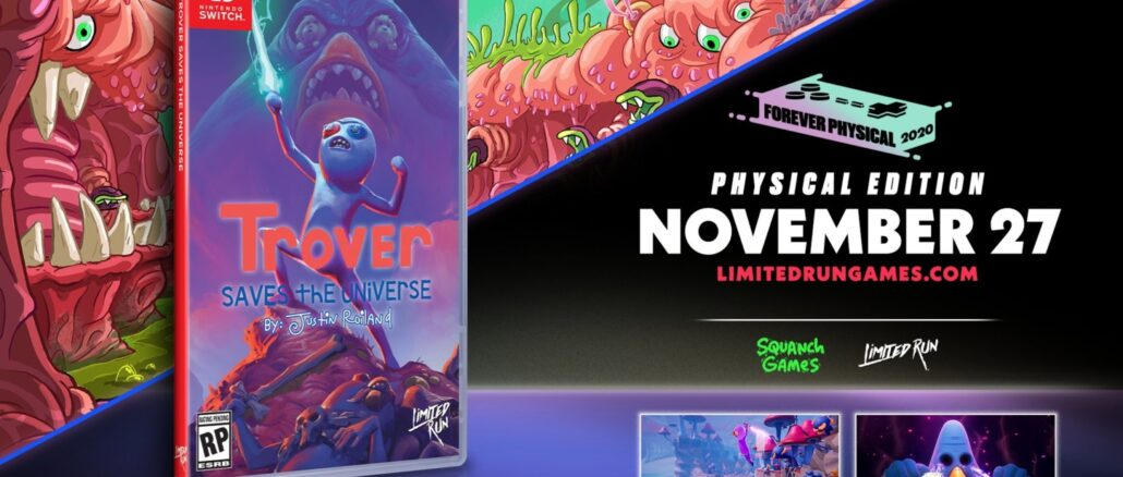 Limited Run Games – Volgende fysieke release – Trover Saves The Universe