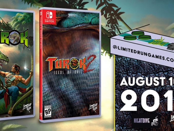 News - Limited Run Games – Next up; Turok time! Starting August 16th