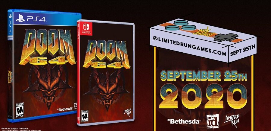 Limited Run Games – Fysieke edities DOOM 64 – 25 September