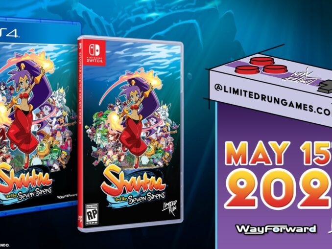 Nieuws - Limited Run Games – Shantae And The Seven Sirens