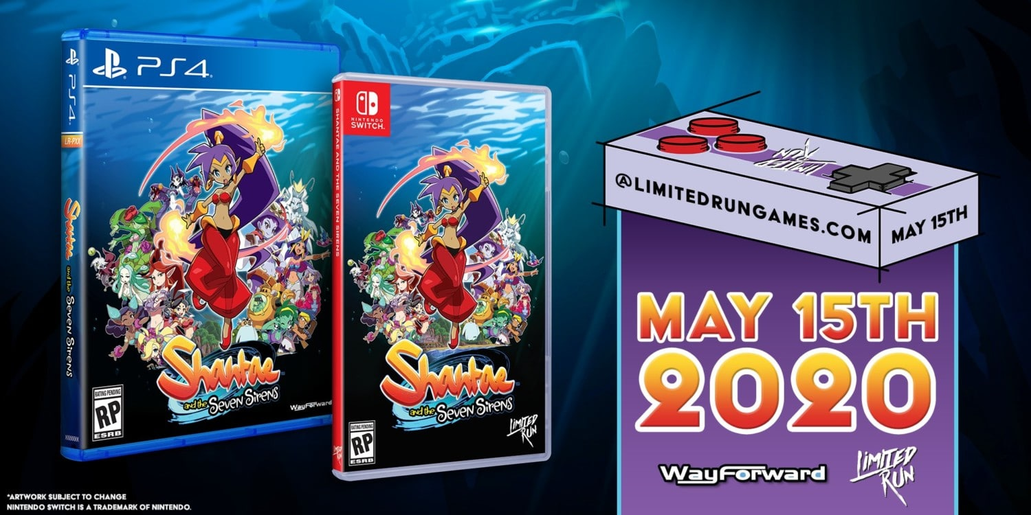 Limited Run Games – Shantae And The Seven Sirens