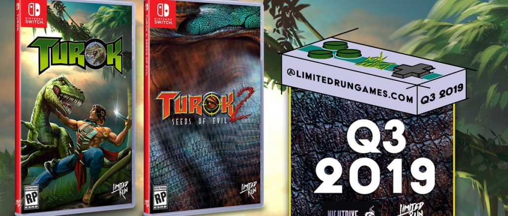 Limited Run Games: Turok & Turok 2 Fysieke Edities