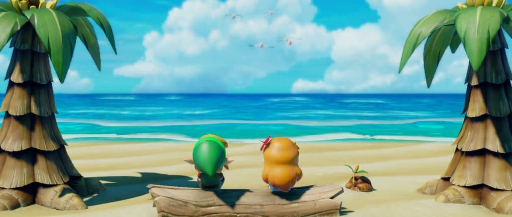 Link's Awakening – Aftiteling en Ballad Of The Wind Fish muziek