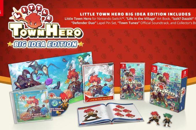 Nieuws - Little Town Hero Big Idea Edition komt in Juni