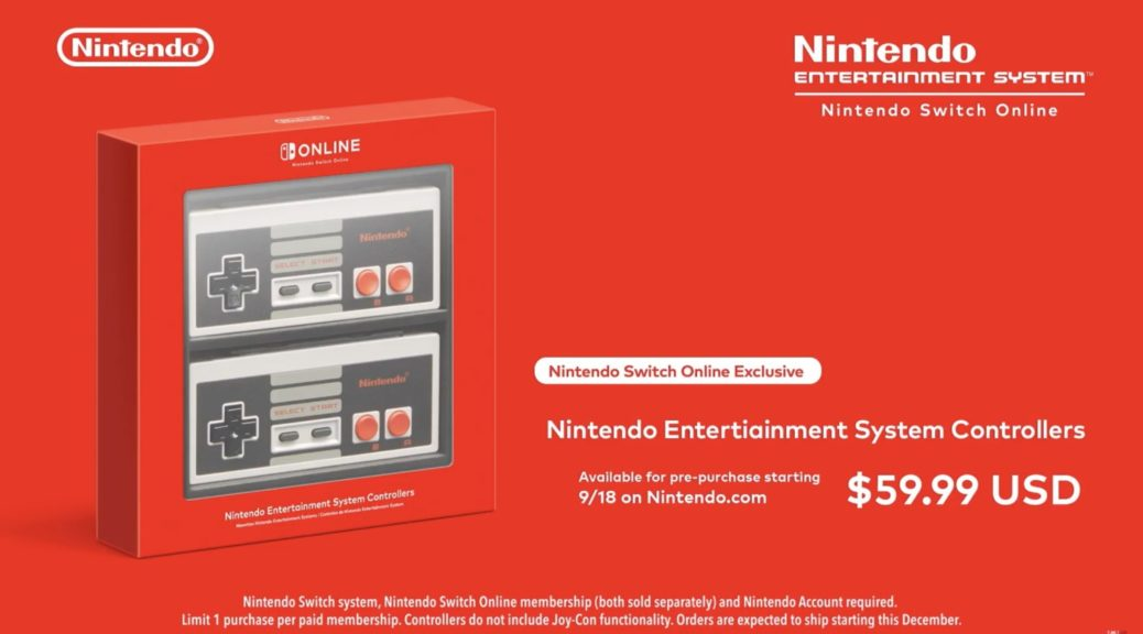 Overview Trailer – NES Nintendo Switch Online Controllers