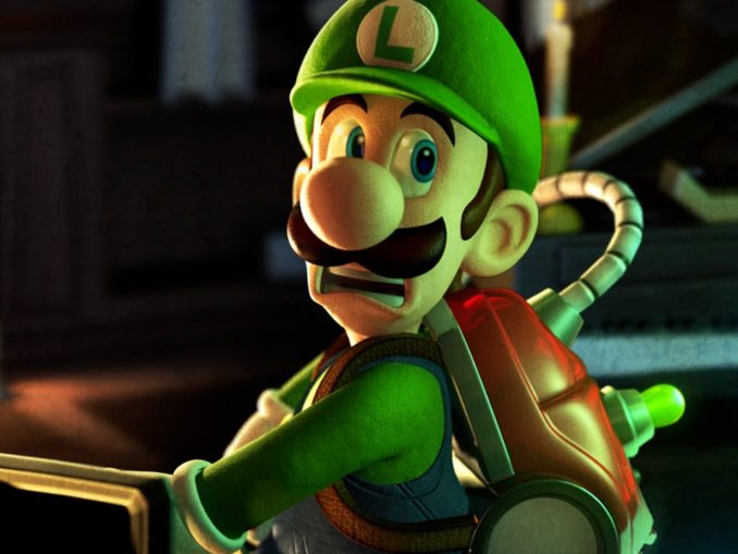 News - Luigi's Mansion co-op mode
