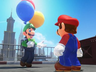Luigi's balloon hunting update available for Super Mario Odyssey
