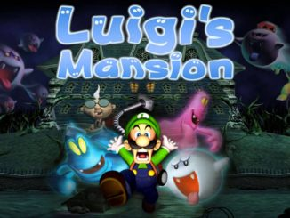Luigi's Mansion footage
