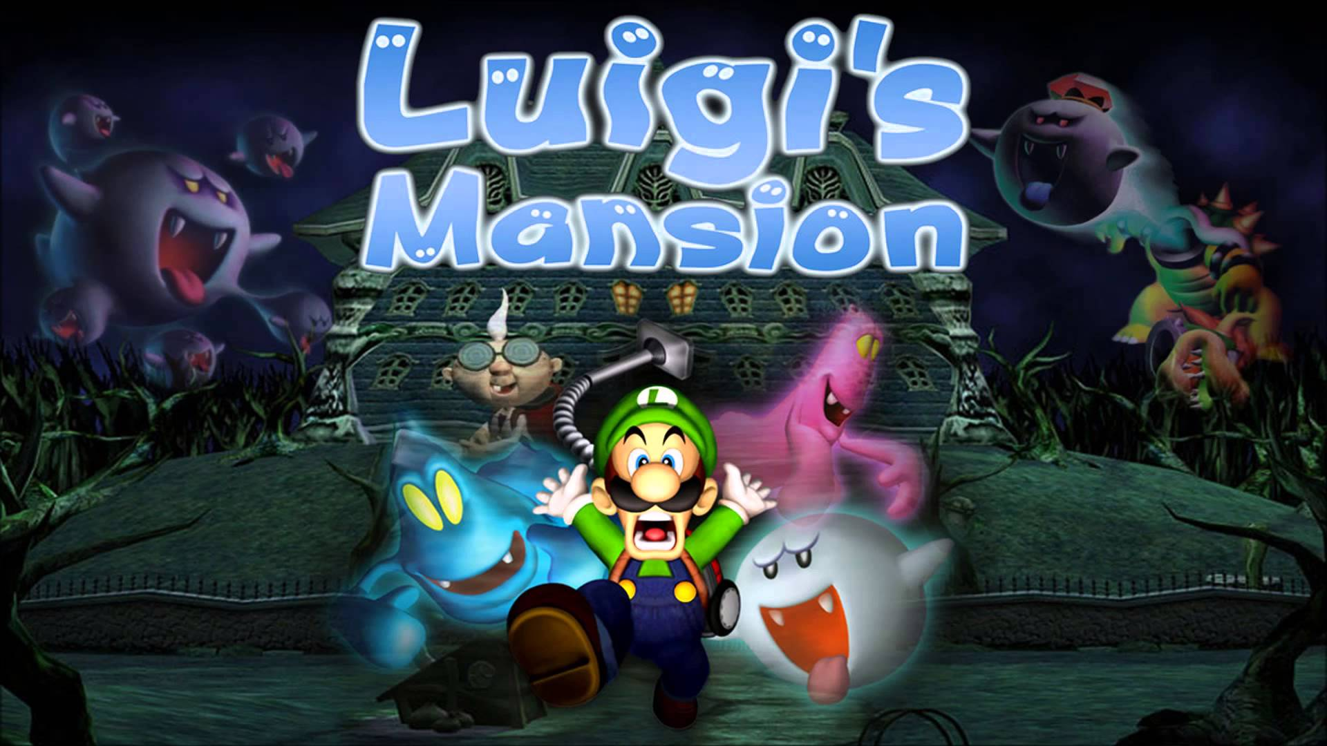 Luigi's Mansion Gamecube VS 3DS
