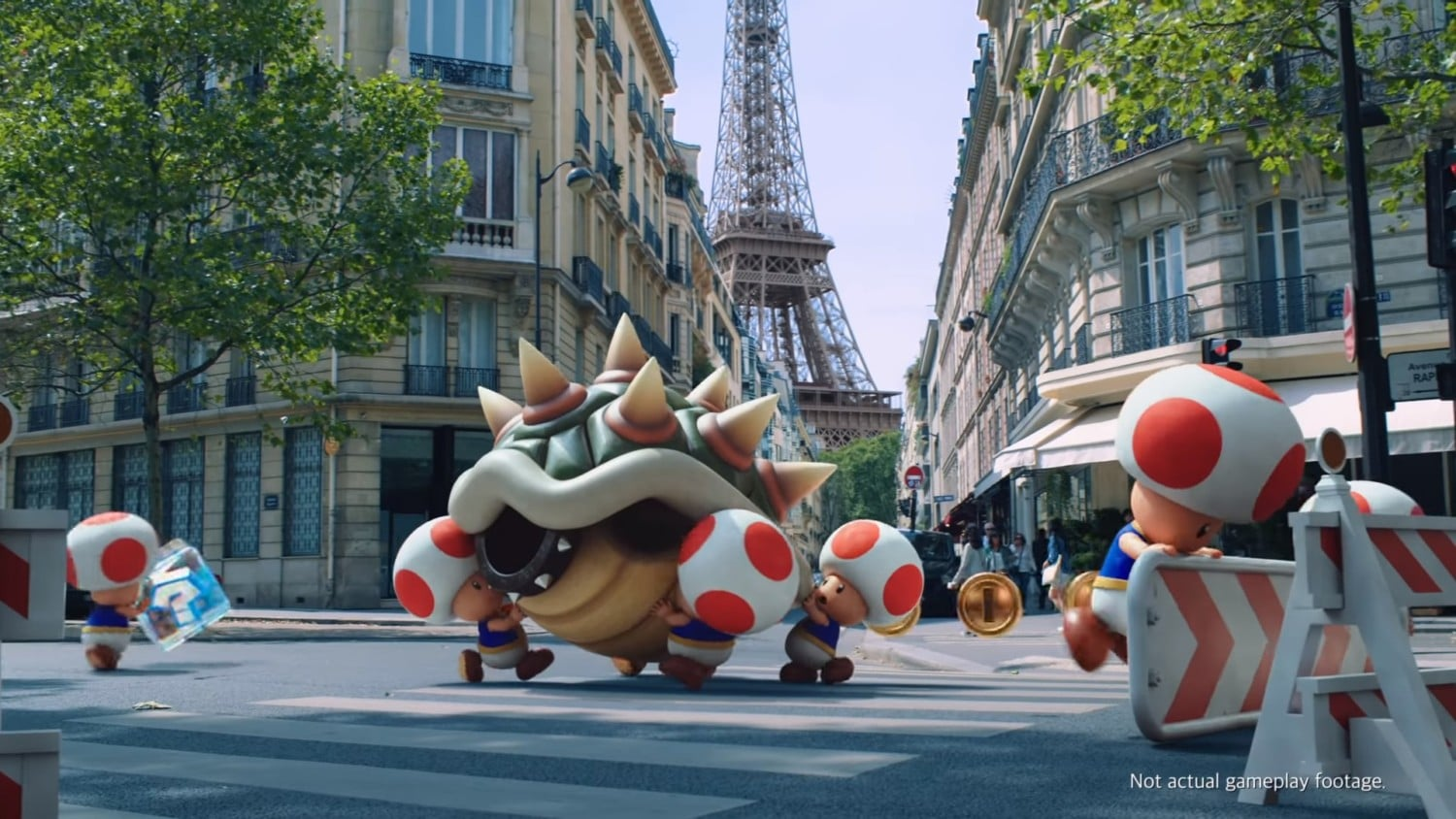Mario Kart Tour – Next Construction Trailer – Toads in Paris