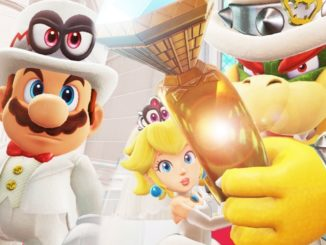 Mario & Peach at the altar .. IT could have happened!