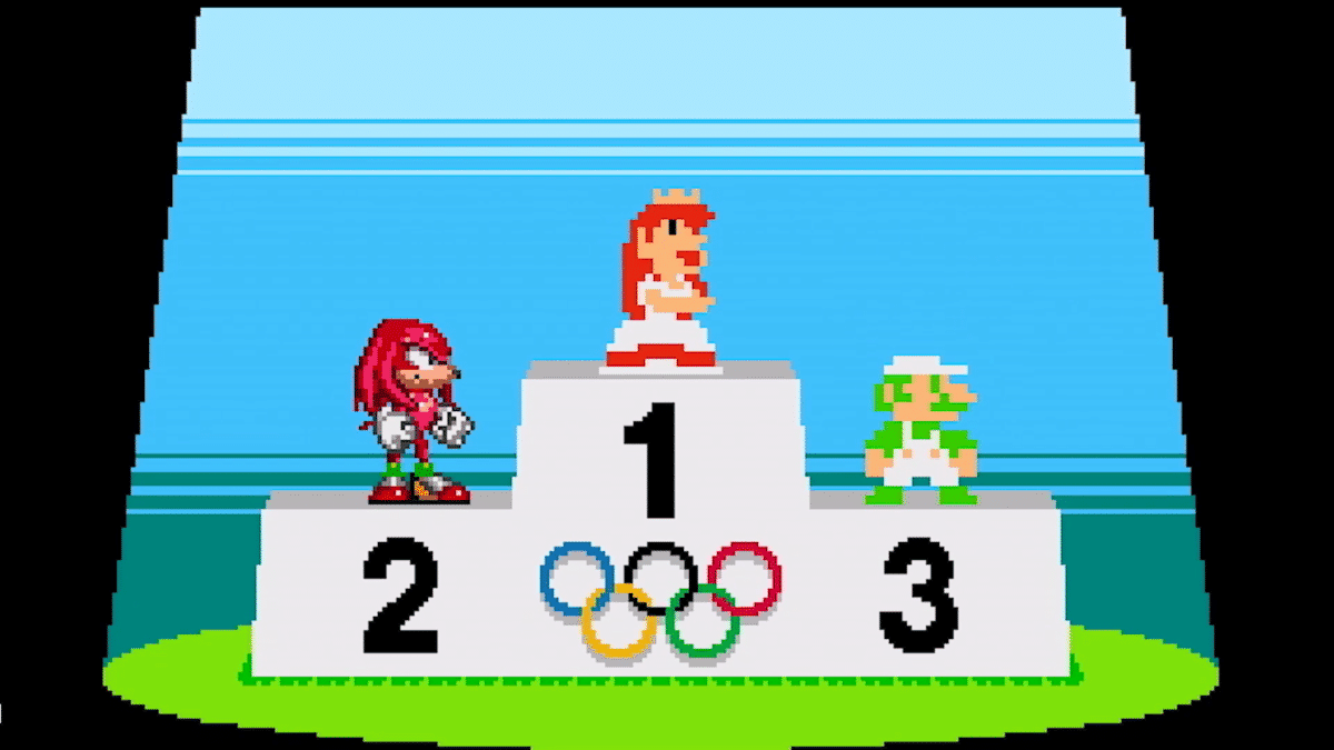 Mario & Sonic At The Olympic Games Tokyo 2020 – 2D Classic Events