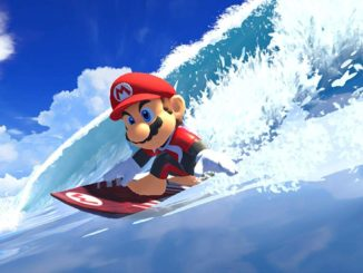 Mario & Sonic at the Olympic Games Tokyo 2020 – Surf footage