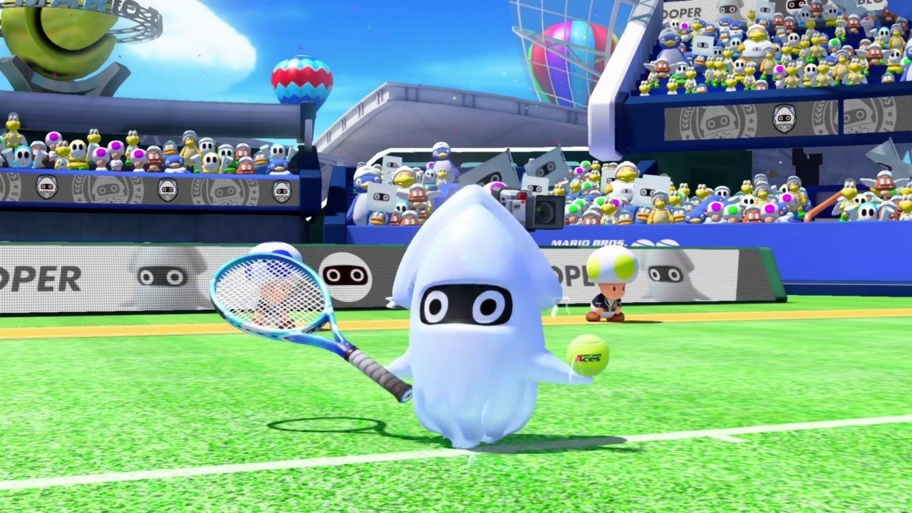 Mario Tennis Aces – Blooper gameplay