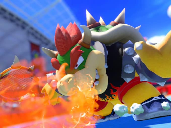 News - Mario Tennis Aces – Bowser Tennis Outfit and more