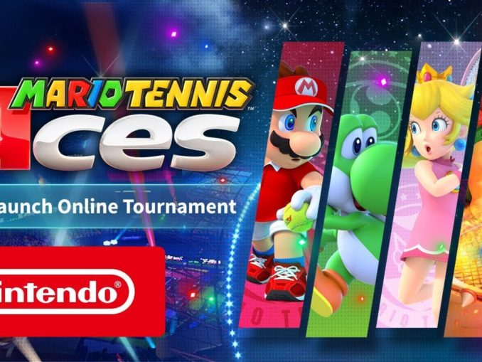 Nieuws - Mario Tennis Aces pre-launch tournament