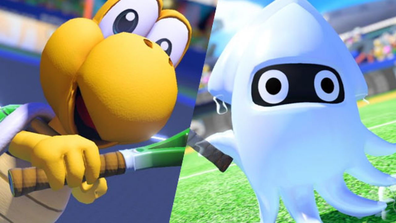 Mario Tennis Aces trailers tonen Koopa Troopa en Blooper