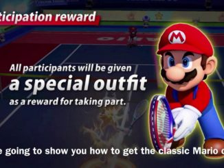 News - Mario Tennis Aces unlock Mario & Luigi's original outfits