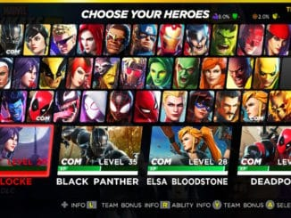 Marvel Ultimate Alliance 3 – Versie 4.0.1, corrigeert verschillende bugs