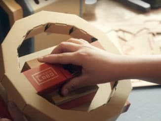 More details in trailer Nintendo Labo vehicle kit
