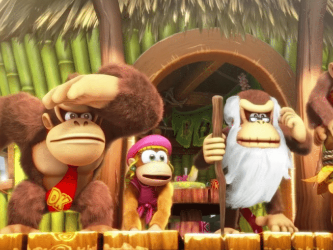 Nieuws - Metroid Easter Egg in Donkey Kong Country: TropicalFreeze