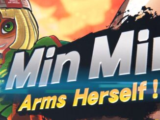 Super Smash Bros Ultimate ARMS fighter is Min Min, coming June 29th