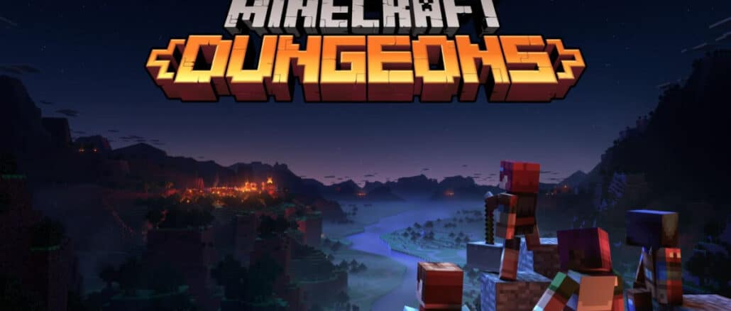 Minecraft Dungeons at start was single player influenced by Zelda and Dark Souls