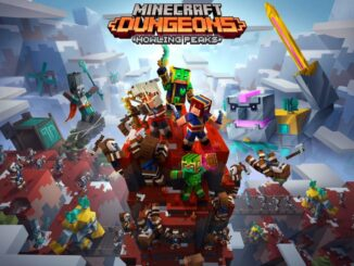 Minecraft Dungeons cross-play in november en Howling Peaks DLC in december