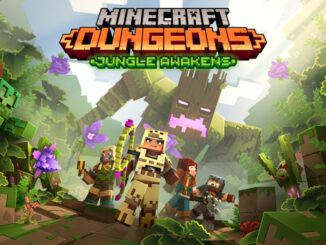 Minecraft Dungeons – Jungle Awakens DLC Juli 2020 – Creeping Winter DLC later