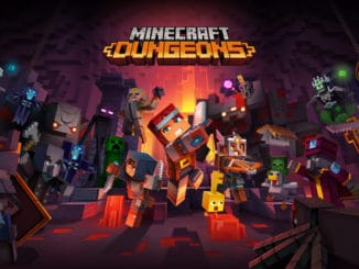 Minecraft Dungeons opening