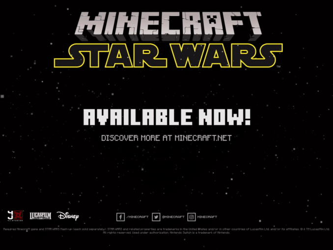 News - Minecraft – Star Wars DLC in Minecraft Marketplace