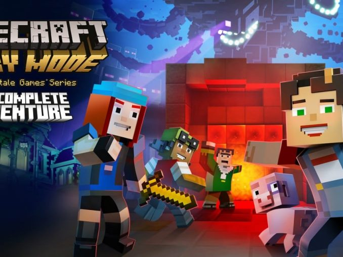 Release - Minecraft: Story Mode – The Complete Adventure – Wii U