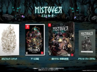 MISTOVER – Physical Edition is coming January 23 In Japan