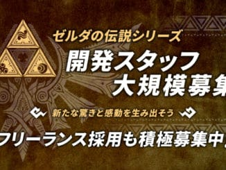 Monolith Soft – Again hiring for work on The Legend Of Zelda series